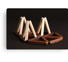 White, Milk, or Plain Chocolate Fingers ? Canvas Print