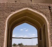 Ancient castle in Rayen, Iran. by Yulia Manko
