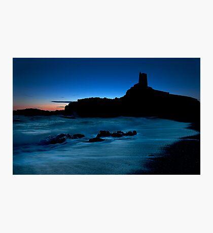Llandwyn Island Silhoutted Photographic Print