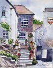 Polperro cottage by Ann Mortimer