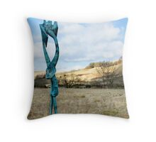 Figure No. 1 Henry Moore Throw Pillow