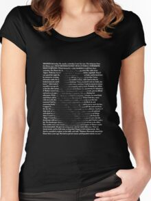 Camus The Outsider Women's Fitted Scoop T-Shirt