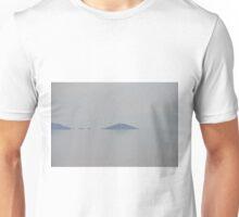 Floating mountains Unisex T-Shirt