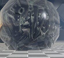 Escher's Building Blocks by Sazzart