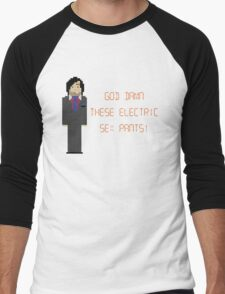 The IT Crowd – God Damn These Electric Sex Pants! Men's Baseball ¾ T-Shirt