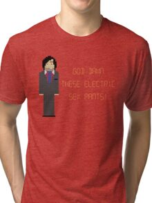 The IT Crowd – God Damn These Electric Sex Pants! Tri-blend T-Shirt