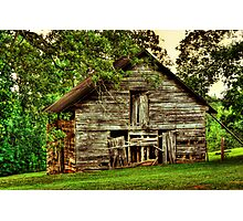 Another Old Barn in Georgia Photographic Print