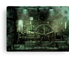 Engine Power Canvas Print