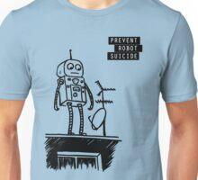 Geeky Robot Suicide Unisex T-Shirt