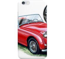 Austin Healey Bugeye Red iPhone Case/Skin
