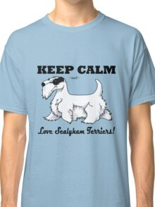 Keep Calm, Love Sealyhams! Classic T-Shirt