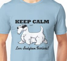 Keep Calm, Love Sealyhams! Unisex T-Shirt