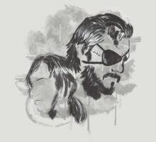 Metal Gear Graffitti by agustindesigner