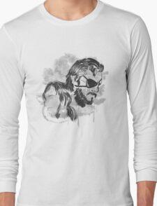 Metal Gear Graffitti Long Sleeve T-Shirt