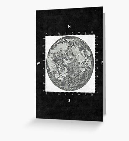 Moon Scale II Greeting Card