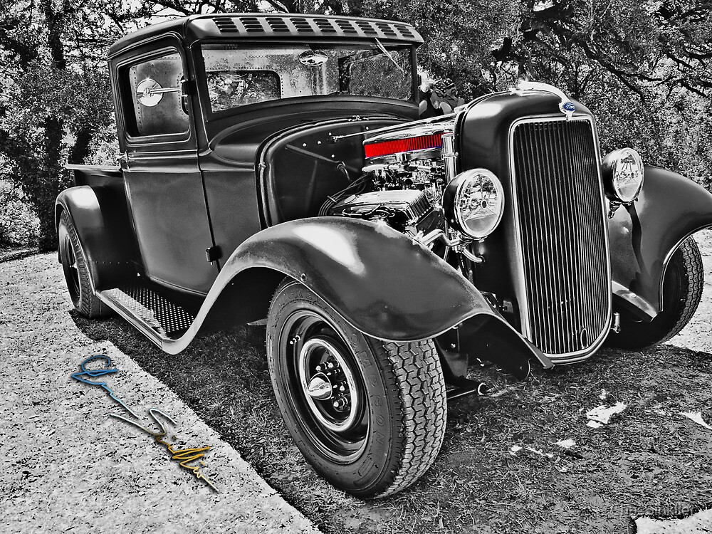 34 Ford Pickup by ChasSinklier