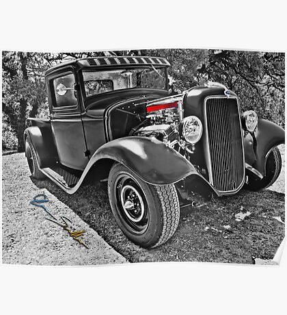 34 Ford Pickup Poster