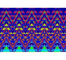 Sliced Triangles Photographic Print