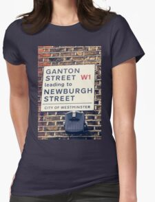 London street sign in Soho T-Shirt
