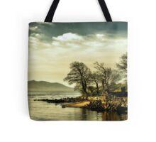 Where the river meets the sea Tote Bag