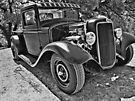 34 Ford Pickup Black & White by ChasSinklier