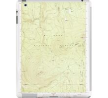 USGS Topo Map Oregon Pinhead Buttes 281101 1986 24000 iPad Case/Skin