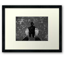 Pensive Reflection Framed Print