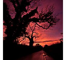 The road to Hades Photographic Print