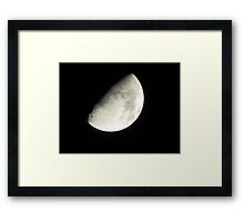 'Man in the Moon' Framed Print