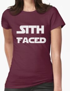 Sith Faced Womens Fitted T-Shirt