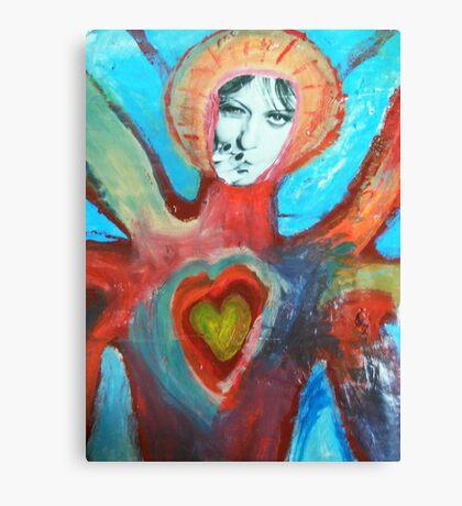 Katherine Lucy Bridget Burke-topus Canvas Print