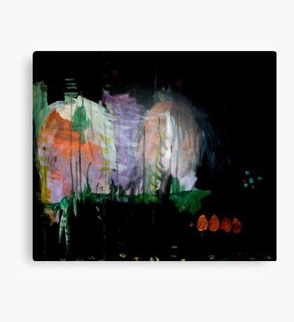 the darkened woods  Canvas Print