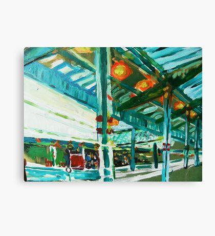 westgate station a study Canvas Print