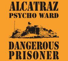 Alcatraz Psycho Ward Dangerous Prisoner by ukedward