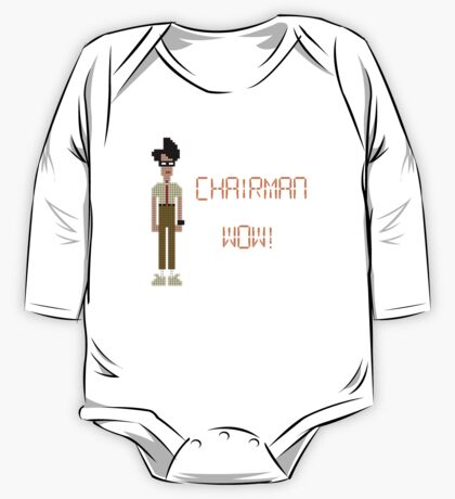 The IT Crowd – Chairman Wow! One Piece - Long Sleeve