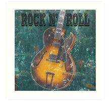 Rock n Roll Art Print
