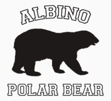 Albino Polar Bear by waywardtees