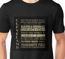 Cleveland Ohio Famous Landmarks Unisex T-Shirt