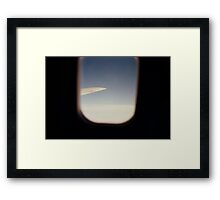 In the air Framed Print
