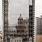 Downtown Reflection by Keith Stephens