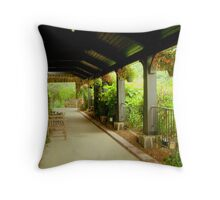 Resting Place - Chateau Morrisette  ^ Throw Pillow