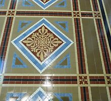 National Portrait Gallery floor tile by nealbarnett