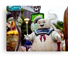 Stay Puft Marshmallow Man in Slime Canvas Print