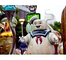 Stay Puft Marshmallow Man in Slime Photographic Print