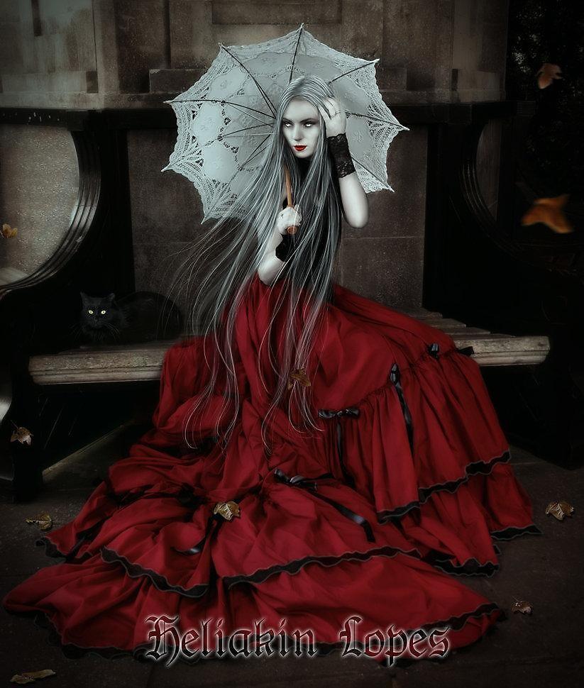 Queen of Vampires by heliakin