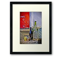 Primary Compositon Framed Print