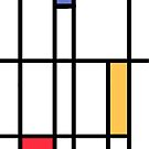 Homage Mondrian by Nigel Silcock