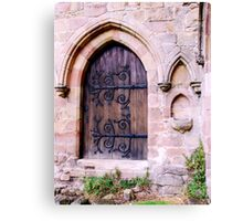 Doorway at Bolton Priory Canvas Print