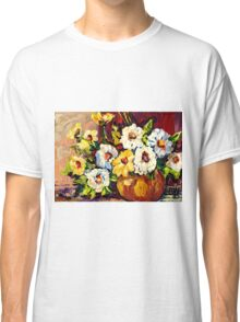 YELLOW AND WHITE FLOWERS BEAUTIFUL BOUQUET  Classic T-Shirt