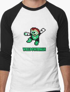 Willpowerman Men's Baseball ¾ T-Shirt